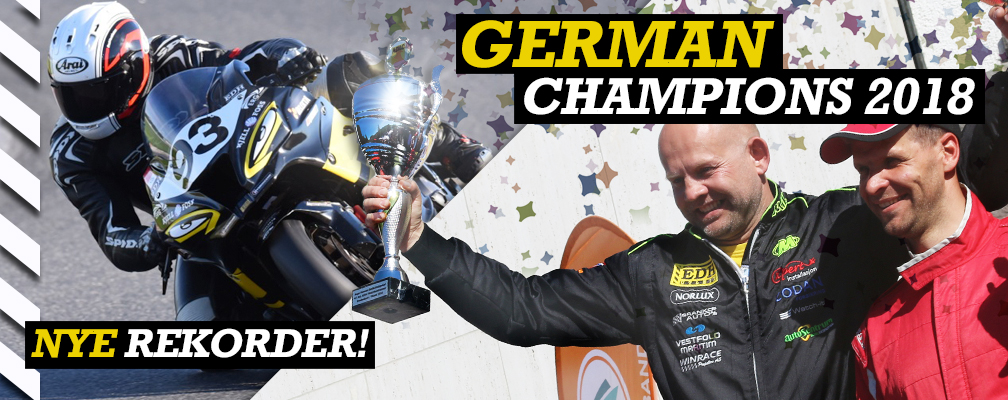German Champion 2018 F2 Powerboat